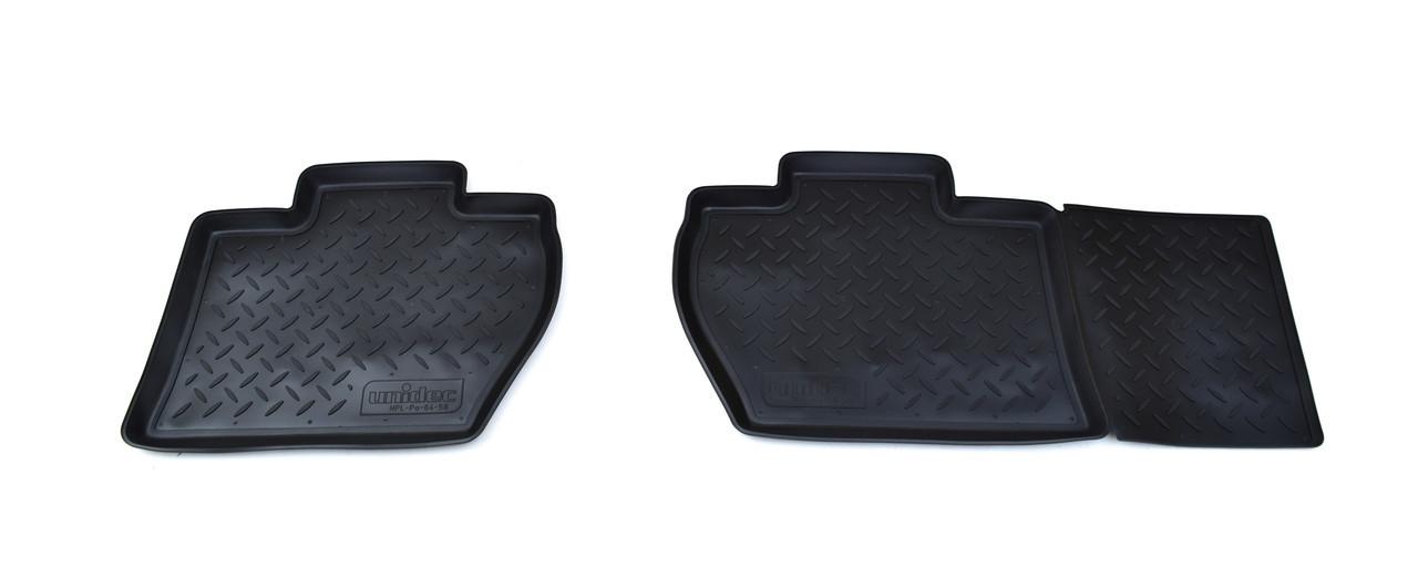 Коврики в салон для Peugeot Partner Tepee /Ci-Berlingo (08-12) 4дв. полиуретан задние NPL-Po-64-58