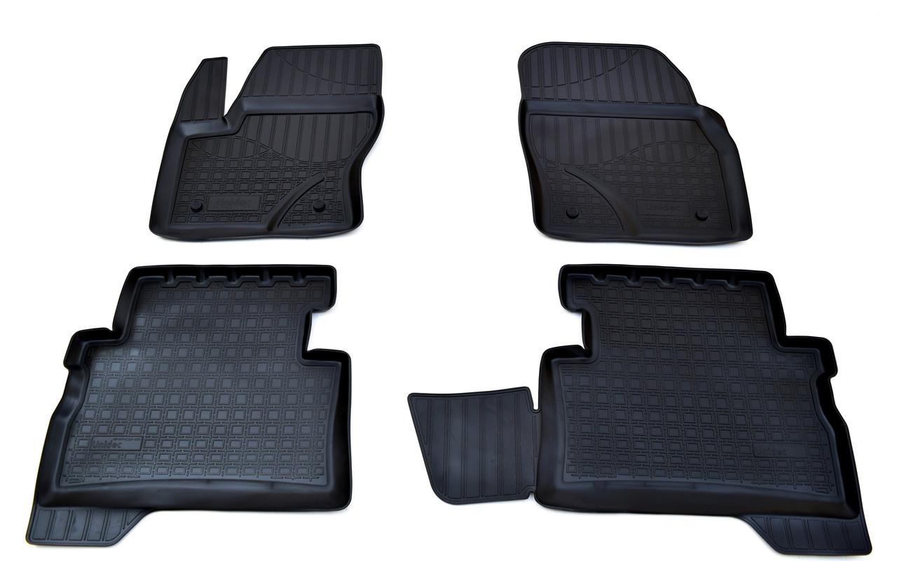 Коврики в салон для Ford Kuga (13-) (полиур., компл - 4шт) NPA11-C22-400