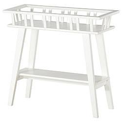 IKEA LANTLIV (701.861.13) Подставка для горшка, белая
