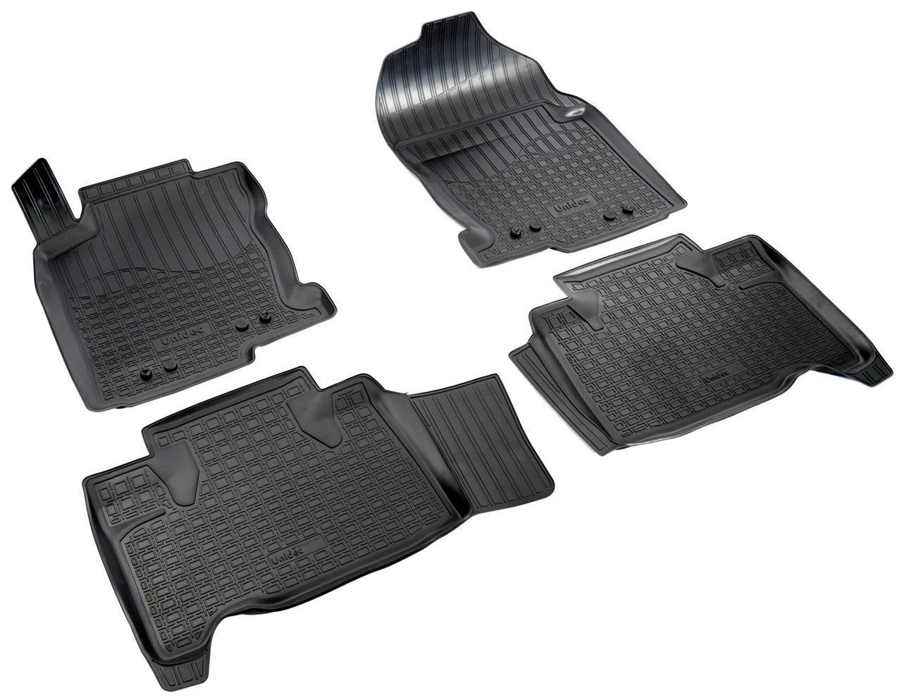 Коврики в салон для Lexus NX (14-) (полиур., компл - 4шт) NPA11-C47-580