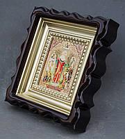 Киот для репродукции фигурный,с внутренней деревянной рамой покрытой краской под золото, фото 8