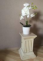 Орхидея искусственная, декор для дома и офиса, 50см