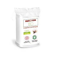 Органічні ватні косметичні серветки Bocoton.60 шт