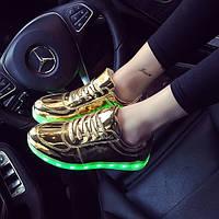 Светящиеся LED кроссовки с подсветкой, [ 36 38 40]