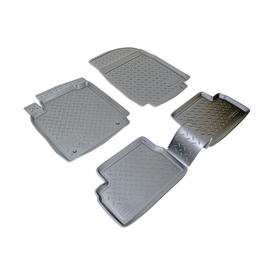 Коврики в салон для Nissan Micra (05-) (полиур., компл - 4шт) NPL-Po-61-15