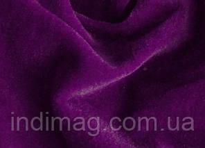 Велюр фиолетовый хлопок пенье