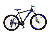 Горный велосипед Benetti Apex DD 26'' Neco черно-синий (ХАРДТЕЙЛ)