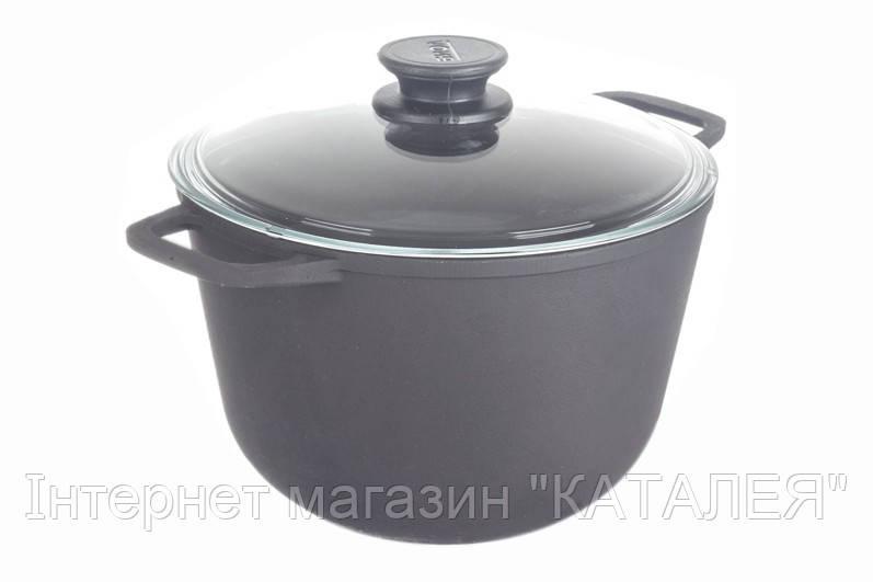 Каструля чавунна з кришкою BIOL 4 л
