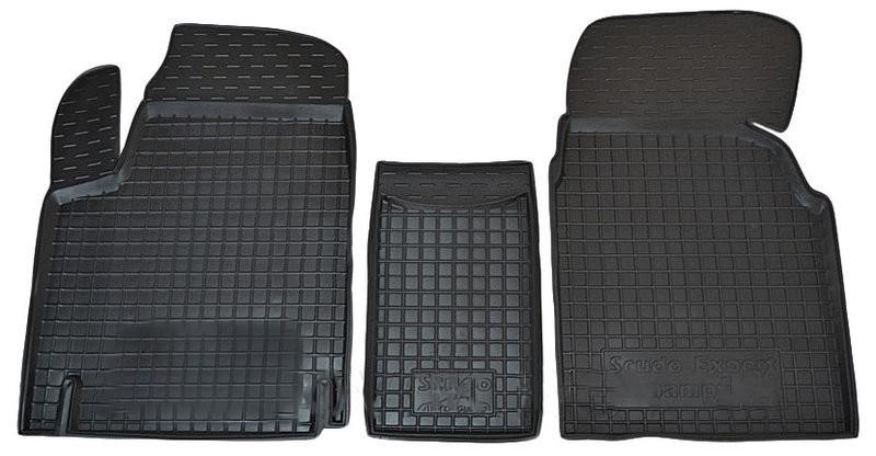 Коврики в салон для Fiat Scudo/Citroen Jumpy (1,6) 1997-2004 -> черный  11175 Avto-Gumm
