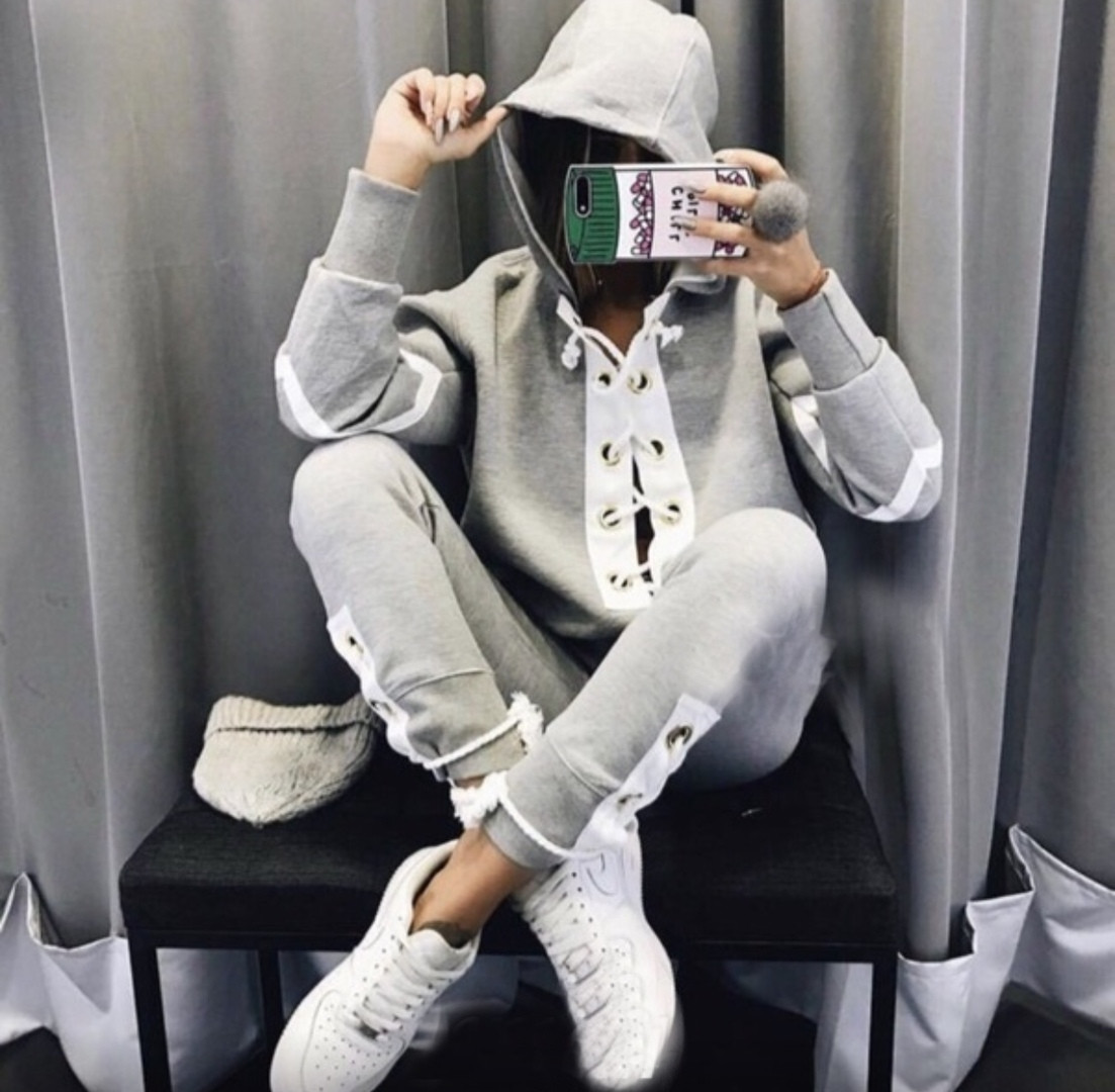 Спортивный костюм с завязками «Хулиганка»