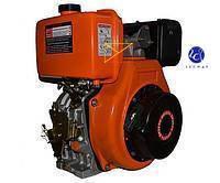 186FE (OHV)-диз. двигатель,9 л.с.  ШЛИЦ. соед+ ЭЛЕКТРОСТАРТЕР