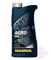 Масло 2T, 1л (минеральное, для бензопил и мотокос, 7859 Agro HSQ API TC) MANNOL, шт