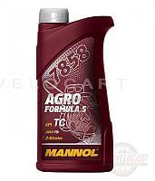Масло   2T, 1л   (для садовой техники, 7858 Agro Formula S API TC)   MANNOL, шт