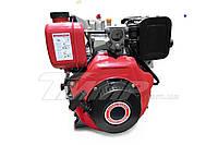 Двигатель для мотоблока дизель 178F d=25 mm под шлиц (+стартер)