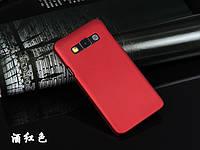 Пластиковый чехол для Samsung Galaxy A3 A300 бордовый, фото 1