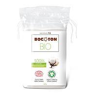 Органические вадратные ватные диски Bocoton. 40шт.