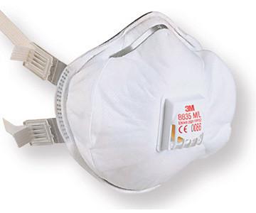 Противоаэрозольный респиратор 3М 8835 (уровень защиты FFP3)