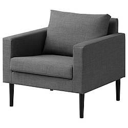 IKEA FRIHETEN (303.047.93) Кресло, Skiftebo серый