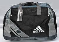Спортивная сумка Adidas черный с серым