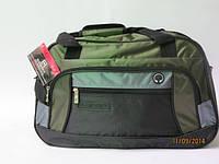 Стильная модная дорожная сумка Ef - зеленые вставки