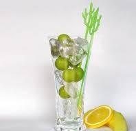 Декор - мешалка для напитков Кактус в ассортим. 22,5 см 10 шт./упак.