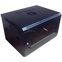 Шкаф настенный 6U Hypernet (WMNC-6U-FLAT-BLACK)