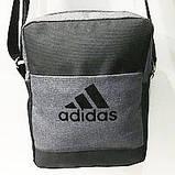 Спортивные барсетки Adidas S\M (черный+камуфляж)16*20см, фото 4
