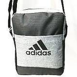 Спортивные барсетки Adidas S\M (черный+камуфляж)16*20см, фото 5
