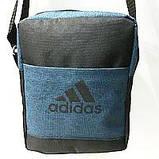 Спортивные барсетки Adidas S\M (черный+камуфляж)16*20см, фото 6
