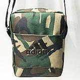 Спортивные барсетки Adidas S\M (черный+камуфляж)16*20см, фото 7