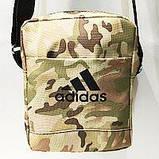 Спортивные барсетки Adidas S\M (черный+камуфляж)16*20см, фото 8
