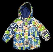 Куртка детская демисезонная с капюшоном весна/осень (92, 104) GARDEN BABY