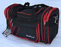 Дорожная сумка Elen Fancy  с красным обводом