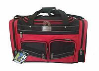 Дорожная сумка ELENFANCY с красными вставками