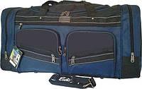Дорожная сумка ELENFANCY с синей окантовкой