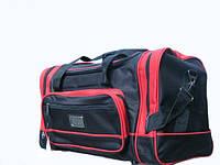 Дорожная сумка фирмы ELENFANCY черно красная