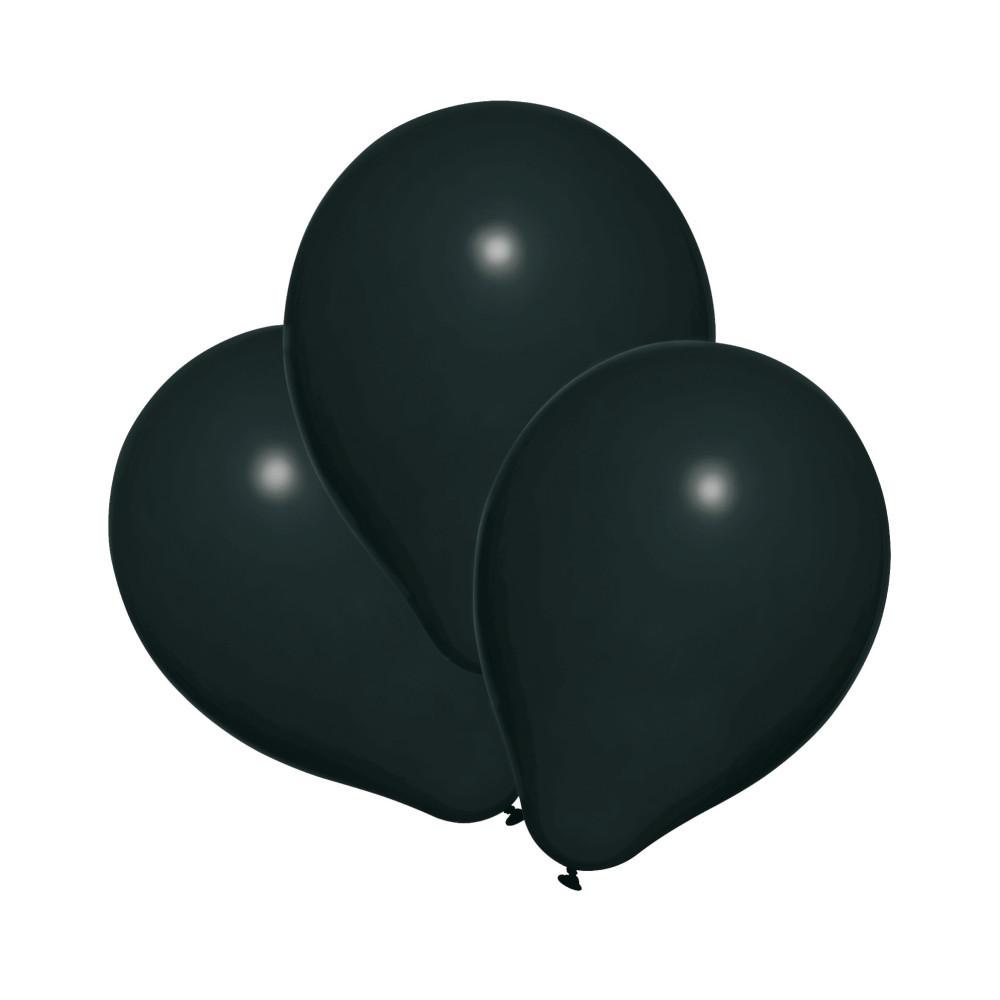 Воздушные шары Susy Card 25шт 20см черные