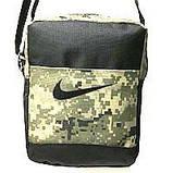 Спортивні барсетки Nike S\M (синій-темний+чорний)16*20см, фото 5