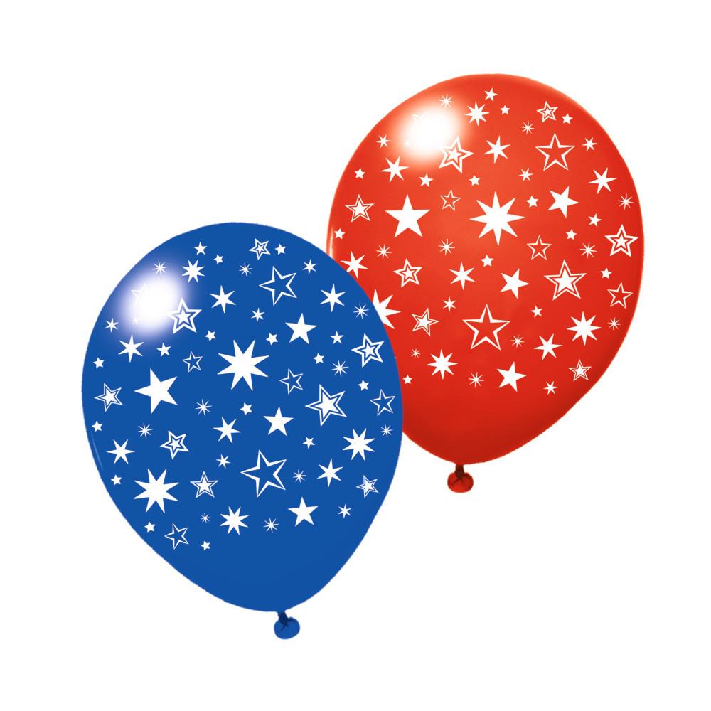 Воздушные шары Susy Card 6шт 25см Stars