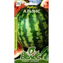Семена арбуза среднераннего «Альянс» (1 г) от ТМ «Велес»