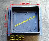 Дверцята чавунна (220х220 мм) печі, грубу, барбекю, мангал, фото 2