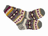 Носки шерстяные вязаные, фото 4