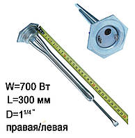 ТЭН для батареи радиатора чугунного 700 Вт