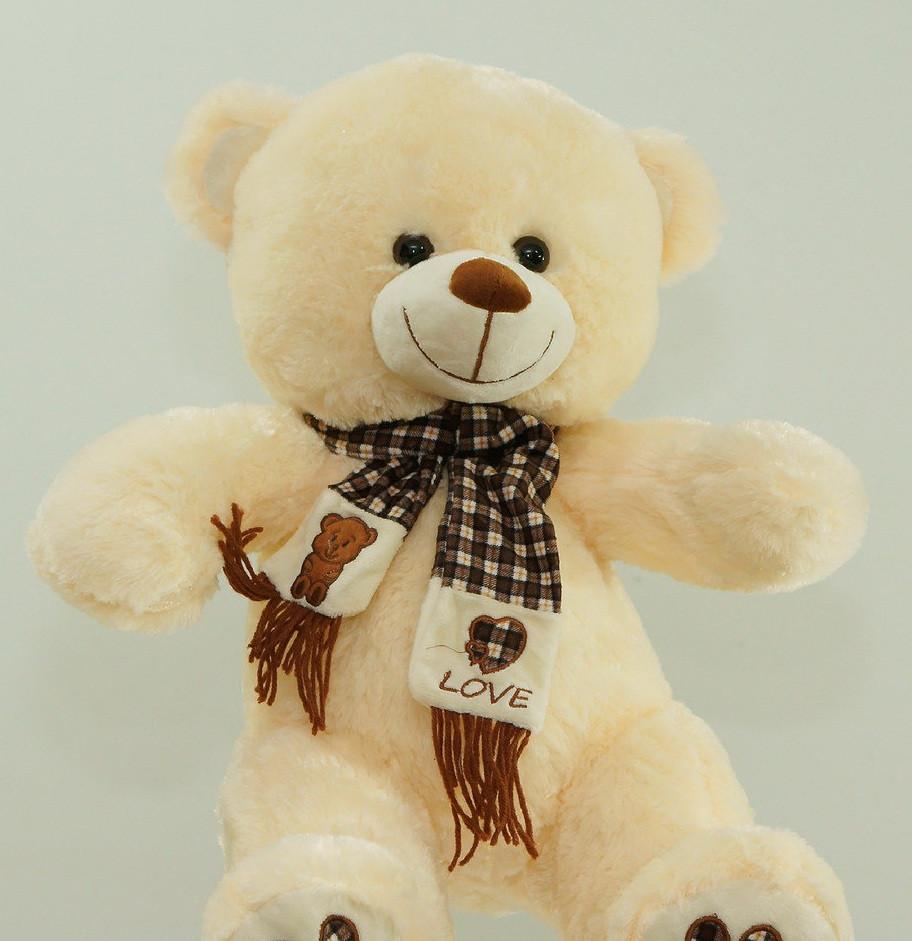 Дитячі м'які іграшки Ведмедик 58 см плюшева іграшка на подарунок