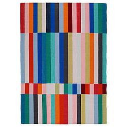 IKEA HALVED (203.282.28) Коврик тканый плоский, ручной работы разноцветный