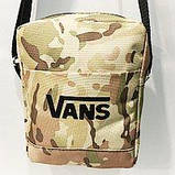 Спортивные барсетки Vans S\M (черный+серый)16*20см, фото 4