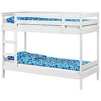 IKEA MYDAL (204.676.29) КАРКАС двухъярусной кровати, белый, 90x200 см