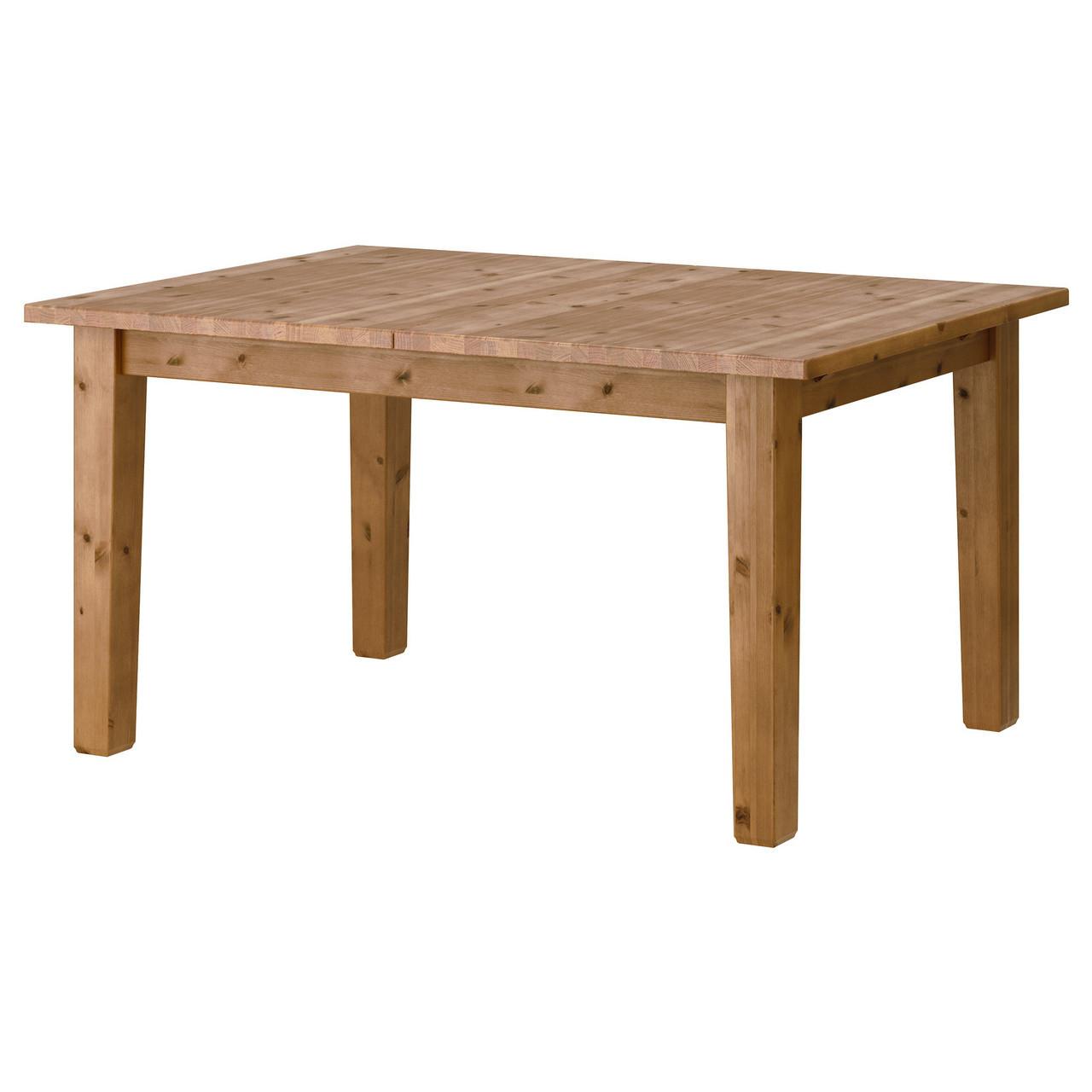 IKEA STORNAS (401.768.46) Раздвижной стол, пятно патины