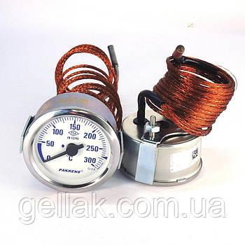 Термометр 0 300°С з виносним датчиком 2 м Ø60, Pakkens Туреччина