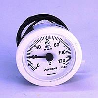 Термометр 0 120°С с выносным датчиком 1 м Ø52, Pakkens Турция